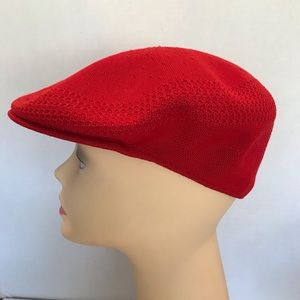 Vintage Original Red Kangol Hat Med